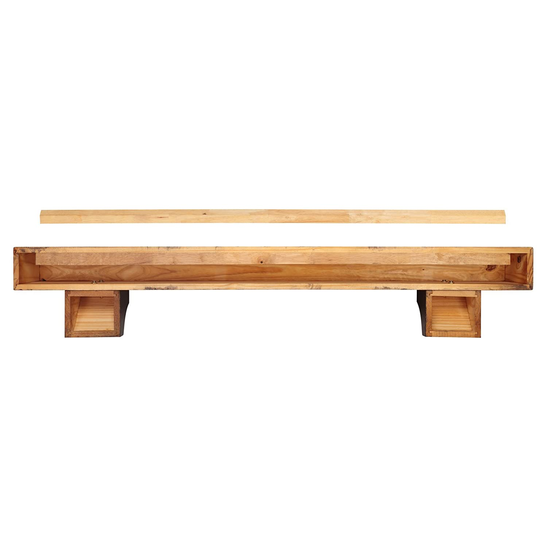 Amazon com shenandoah fireplace mantel shelf finish espresso distressed shelf length 60 home kitchen