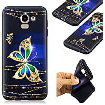"""Case for GALAXY J6,360 Full Body Shockproof Protective Cover Clear Slim Hybrid Armor Hard Anti Scratch Excellent Grip Flexible Tpu Non Slip Non Bulky 5.6"""" 2018 for Women Men Kids"""