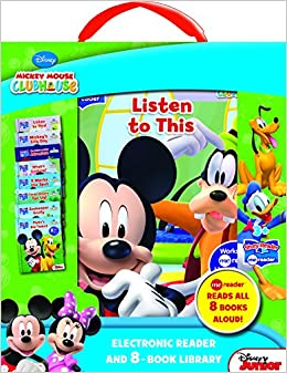 Story Reader Me Reader and Disney 8-Book Library (2013, Board Book)