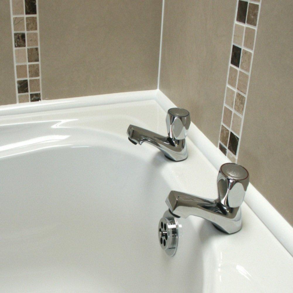 Byretech Ultra 10 Bath Seal for Rectangular Baths (White) - BSWK04 ...