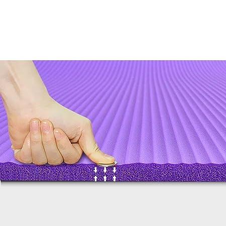 CRRQQ Colchoneta de Yoga: Estera de Ejercicio y Fitness de ...