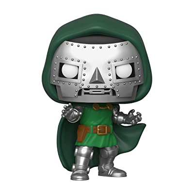 Funko POP! Marvel: Fantastic Four - Doctor Doom, Multicolor (44991): Toys & Games