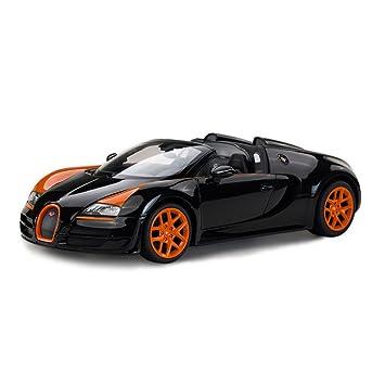 Rastar Bugatti Veyron 16.4 Grand Sport Vitesse RC Model Car,1/14 Scale (