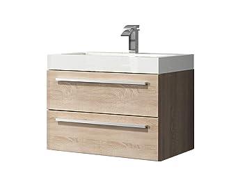 Gut bekannt Badezimmer Badmöbel Marseille 60 cm Eiche hell - Unterschrank XG75