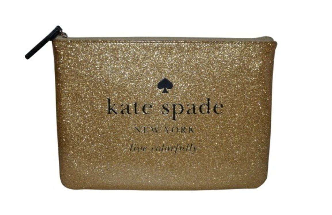 Kate Spade Gia Holiday Drive Bag, Sparkling Gold