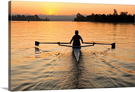 Rowing Scull D\u00e9cor P347 4 Man Rowing Scull Patent 4 Man Rowing Scull Poster Rowing Scull Art 4 Man Rowing Scull Print