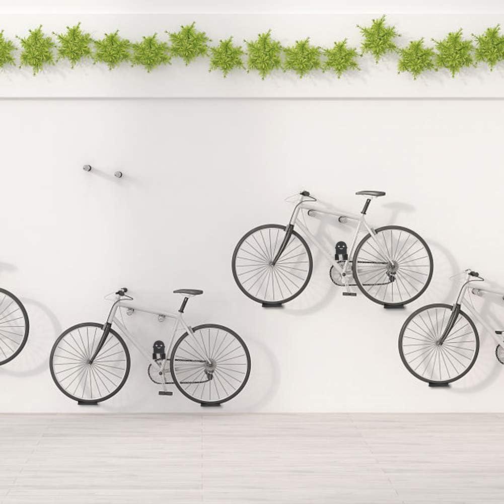 Bike Bicycle Wall Hanger Parking Hook Horizontal Pedal Wheel Park Stand Rack