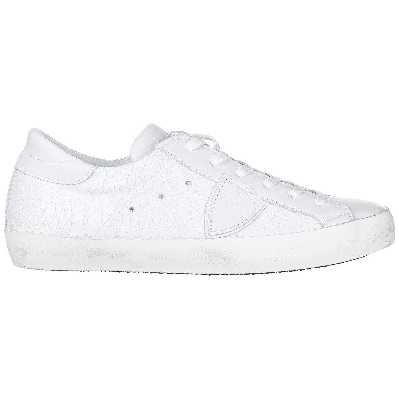 8d2dca8a3 Bianco Philippe Model Men's shoes Leather Trainers Sneakers Paris Paris  Paris White 6b7ae8