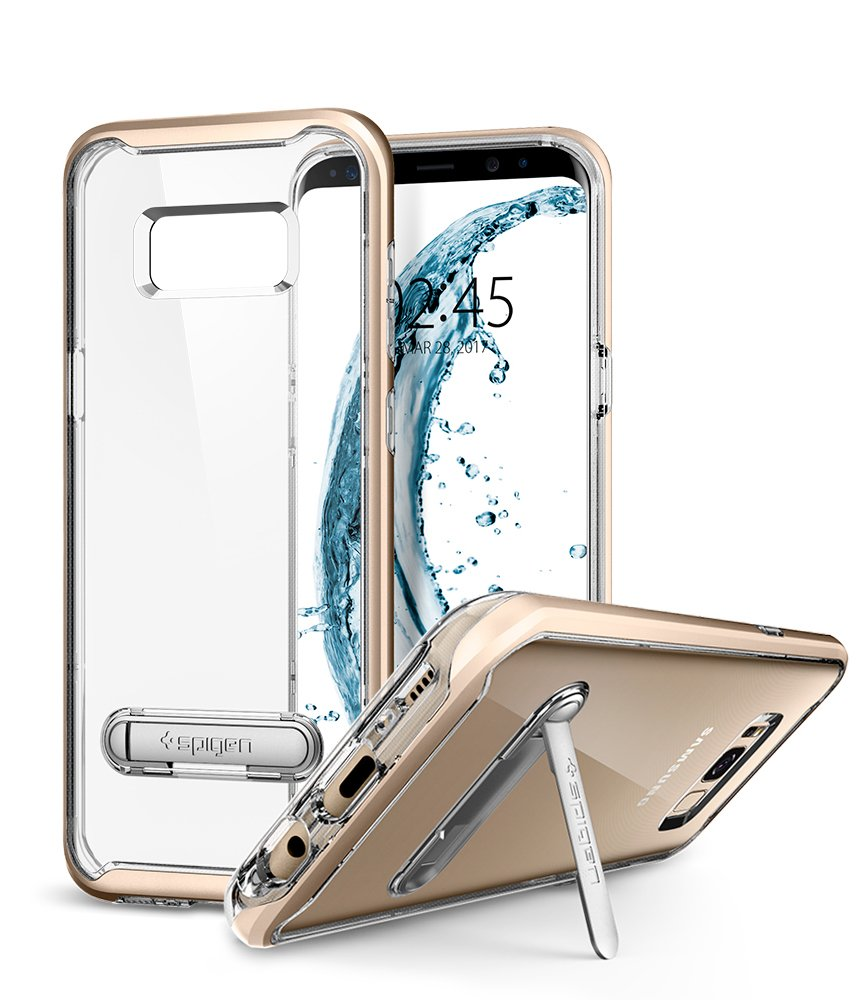 Funda Spigen Samsung S8 Plus [Maple Gold] Crystal Hybrid