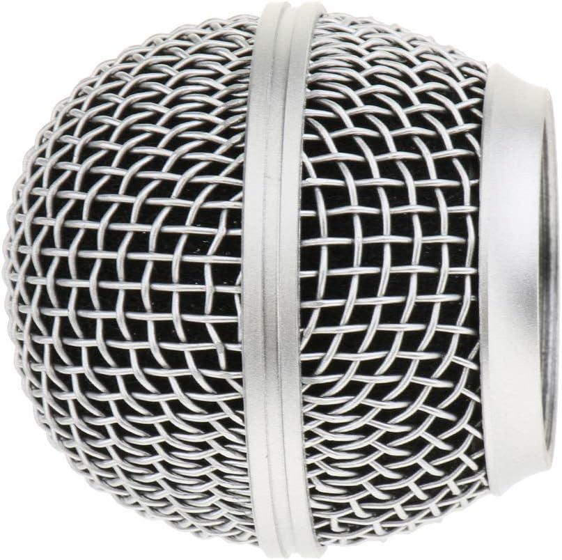Mic Grille Mesh Grillkugelabdeckung F/ür SM58 BETA58 Mikrofon Teile
