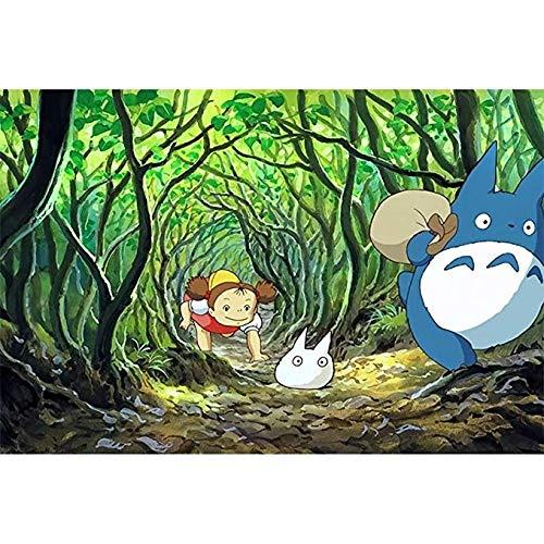 Puzzle ⏰PT Adult 500 Pezzi di decompressione Educazione precoce Giocattoli educativi Anime Castello Bambini PT430 (Colore : F, Dimensioni : 1500pc)