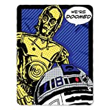 Star Wars, ''Doomed'' Fleece Throw Blanket, 45'' x 60''