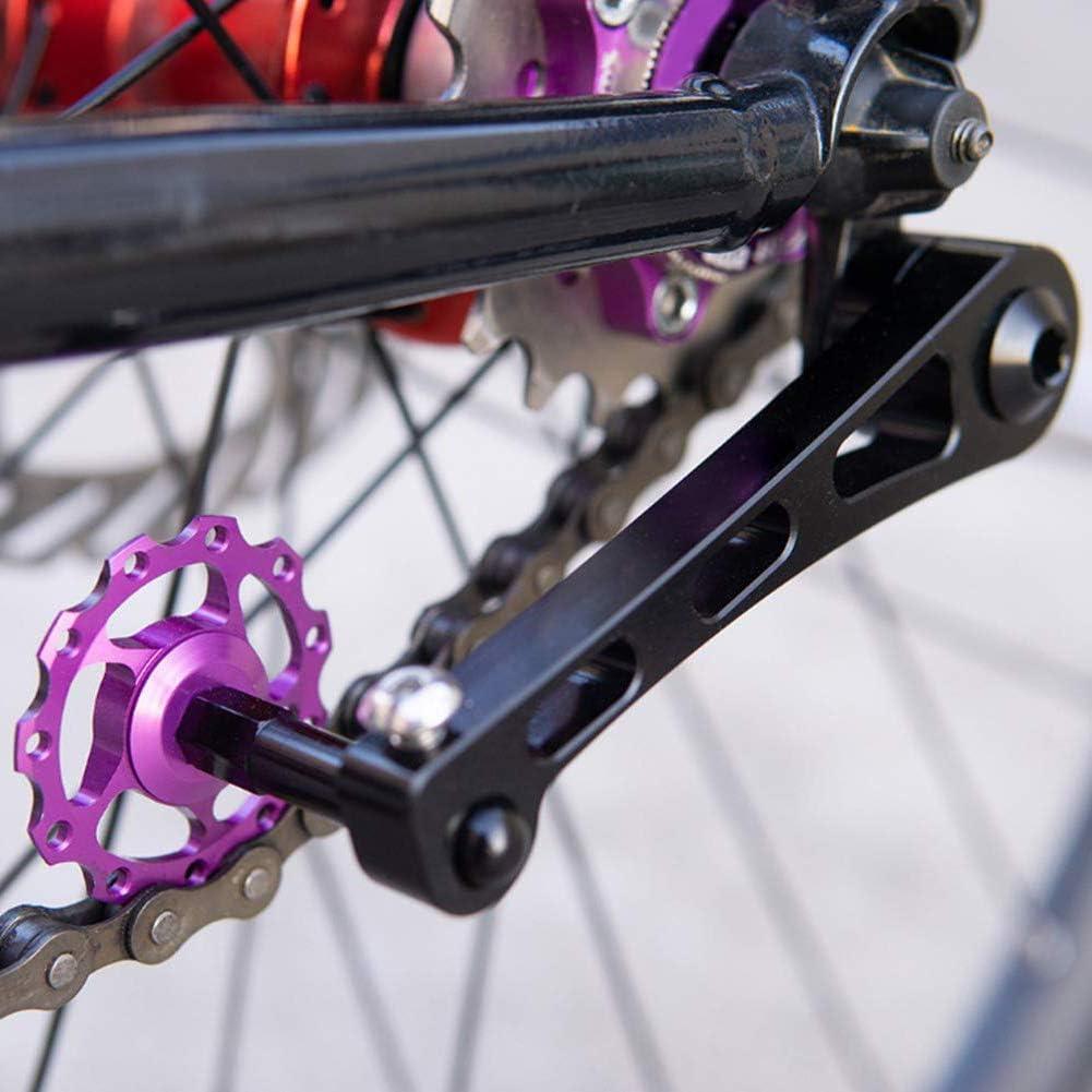 NorCWulT Kettenspanner Single Speed ??Bike Adjuster Converter Fastener Aluminiumlegierung f/ür MTB Stra/ßen-Fahrrad-Radfahren