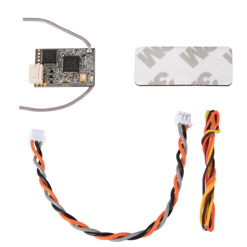 XCSOURCE Satellite Receiver DSMX/DSM2 2.4G 5Channel 11MS/22MS for FPV Racing Micro Quadcopter QAV RC552