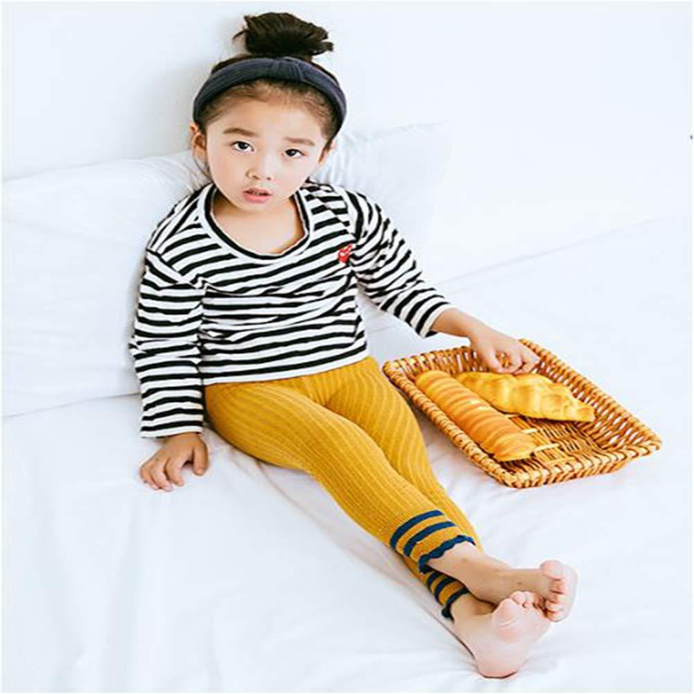 Knitted Toddler Winter Footless Tights Baby Leggings Stockings Pant Socks for Girls 4 Pack