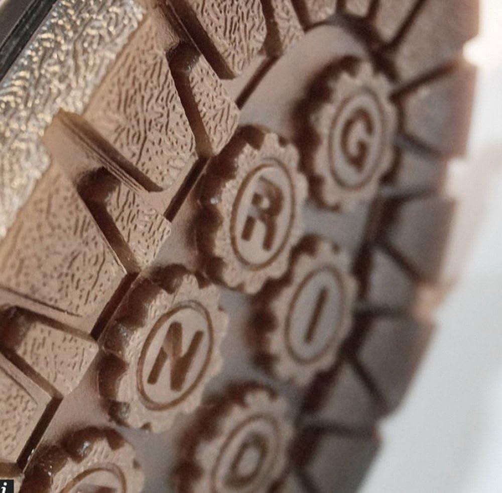 Grinders Herren Herren Herren Percival 3 Eye 2015 Burgund Lace up Derby Gibson Schuhe afa03b