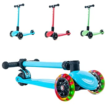 Amazon.com: playshion LED Light-up ruedas de skateboard con ...