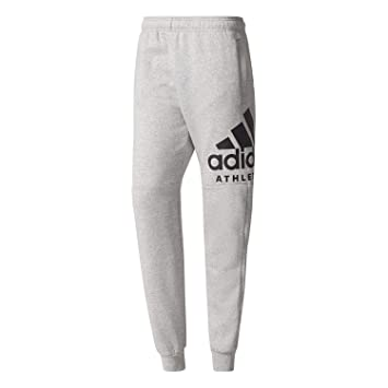 c6c324d928 Adidas Performance Pantalon Sport Id Logo Gris Pantalon Homme ...