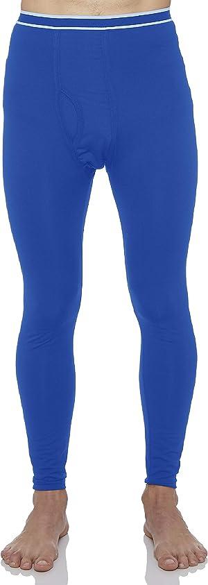 Rocky Men's Fleece Lined Thermal Bottoms Long Underwear Baselayer Pants Legging