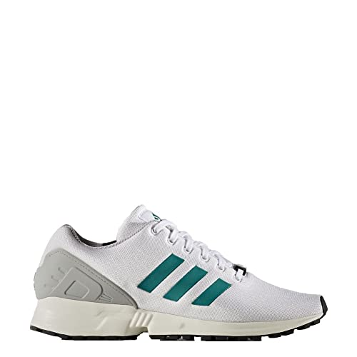sports shoes d0ade 33ca5 Adidas ZX Flux, ftwr white sub green chalk white, 11,5  Amazon.es  Zapatos  y complementos