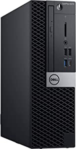 Dell OptiPlex 5070 Desktop Computer - Intel Core i5-9500 - 16GB RAM - 512GB SSD - Small Form Factor -Windows 10 Pro (Renewed)