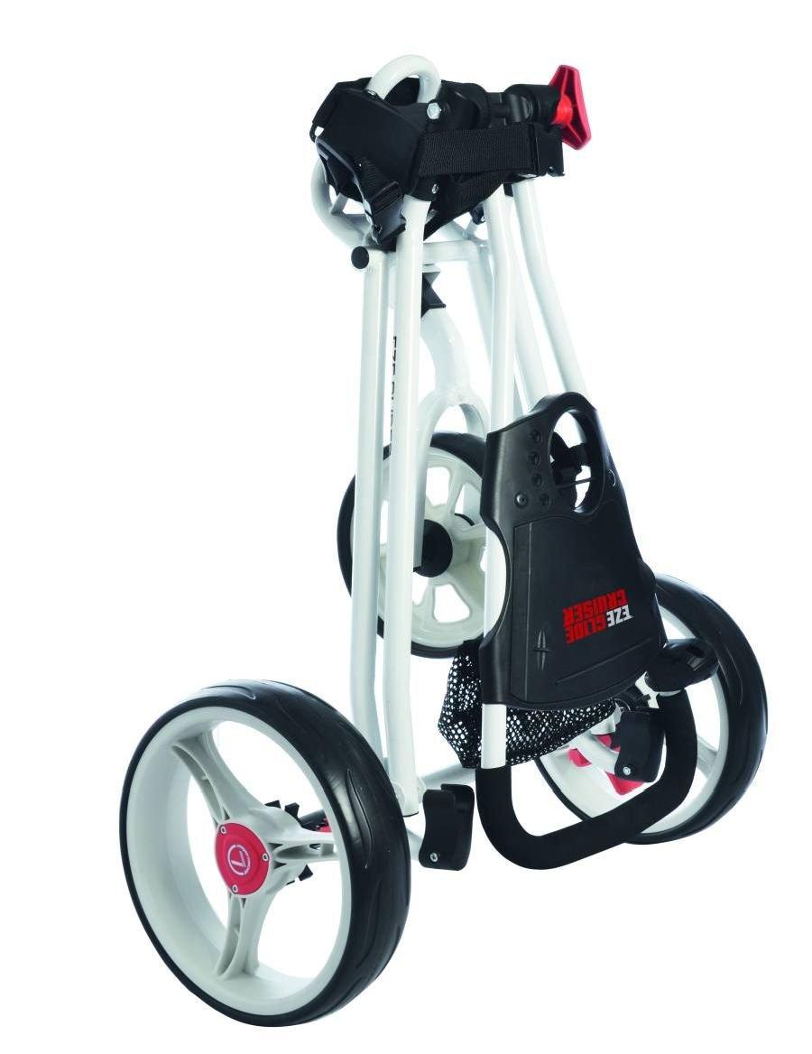 Eze Glide - Carrito de golf con 3 ruedas blanco blanco: Amazon.es: Deportes y aire libre