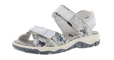 100% authentic shades of pretty cool Rieker 68853 Damen Trekking  Sandalen,Outdoor-Sandale,Sport-Sandale,Sommerschuh