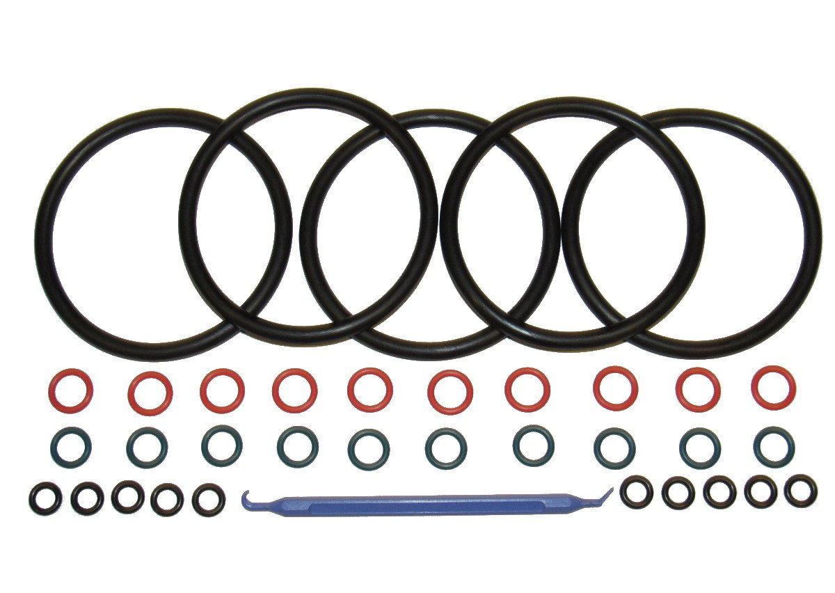 (5 sets) Captain O-Ring COLOR CODED Gasket Set for Cornelius Home Brew Keg [w/o-ring pick] by Captain O-Ring