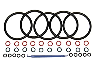 (5 sets) Captain O-Ring COLOR CODED Gasket Set for Cornelius Home Brew Keg [w/ o-ring pick]