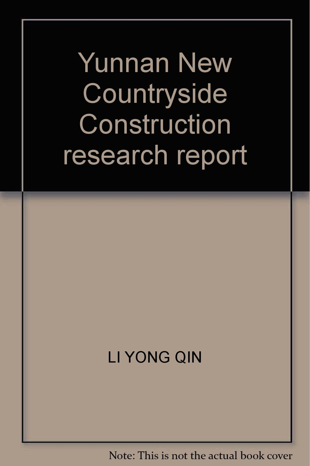 Download Yunnan New Countryside Construction research report PDF