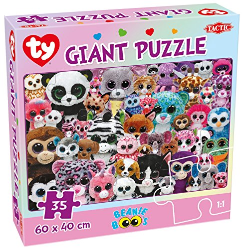 BEANIE BOOS Ty Giant Jigsaw Puzzle by Tactic - 35 p'ce Ages 4 plus