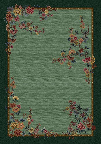Milliken Signature Collection Mindre' Rectangle Area Rug, 10'9 x 13'2, Peridot - Peridot Signature Collection