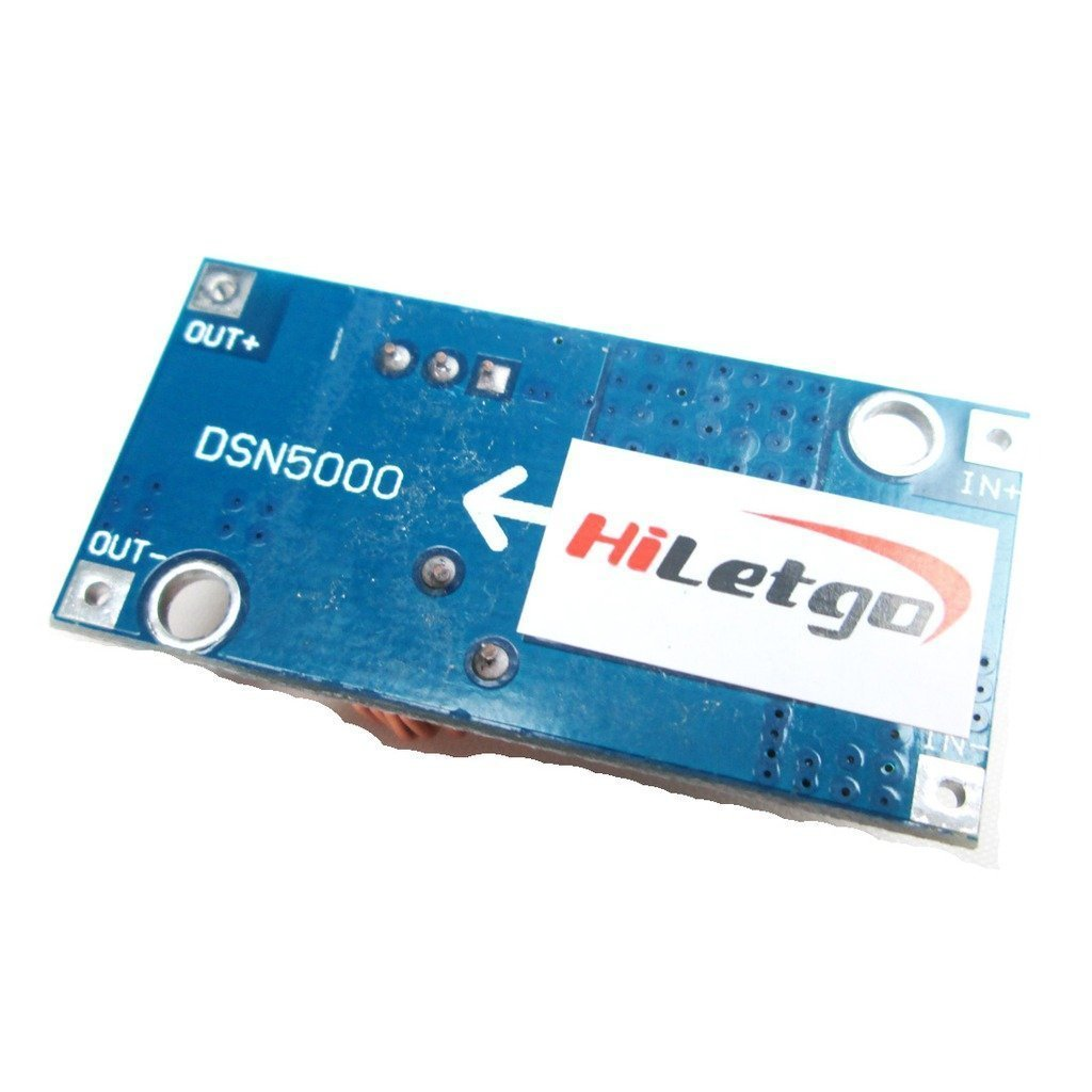 Hiletgo 3pcs Xl4005 Dc Adjustable Step Down Buck Power Module 5 5a 532v Big Current Business Industry Science