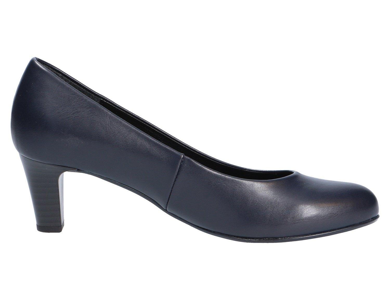 Gabor Damen Fashion Pumps, Pumps, Fashion Grau Blau 136902