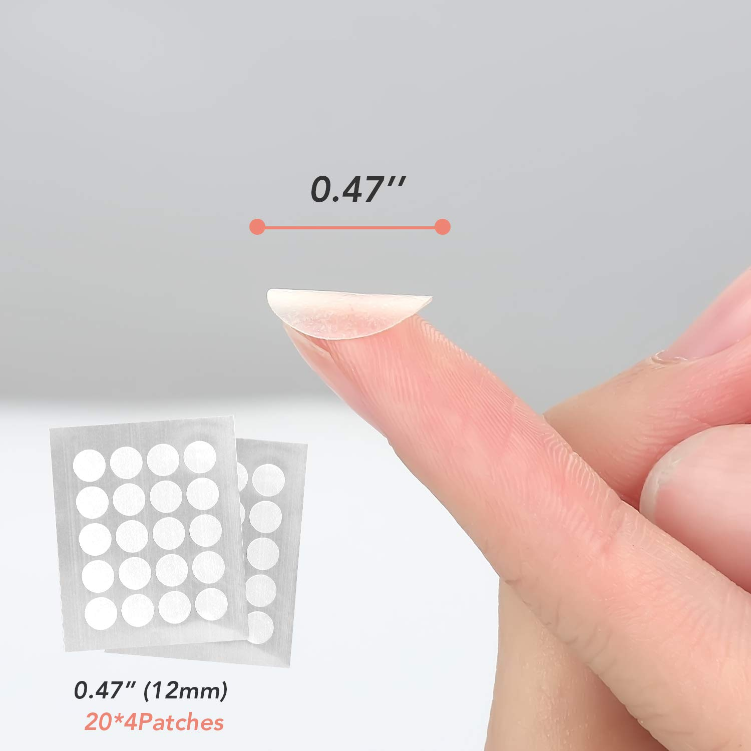AUSLKA Acne Pimple Master Patch, Acne Spot Treatment, Hydrocolloid Acne Dots for Face(120 Patches), Tea Tree Oil, Facial Stickers, Zit Patches
