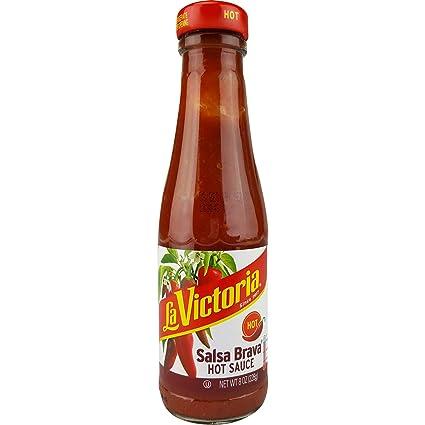 Paquete de 12) La Victoria Salsa Brava salsa caliente, 283 ...