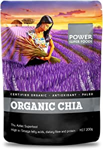 Power Super Foods Organic Chia Seeds 200 g