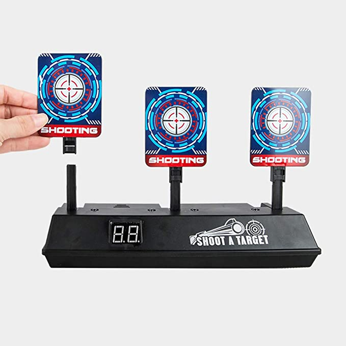 Amazon.com: Winner666 2019 New Auto-Reset Intelligent Light Sound Effect Scoring Targets for DJI RoboMaster S1 (as Show): Toys & Games
