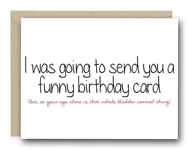 Amazon Funny Birthday Card