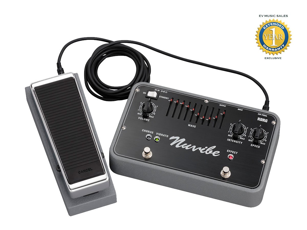 Korg Nuvibe Vibrato Chorus Effector con 1 año de garantía: Amazon.es: Instrumentos musicales