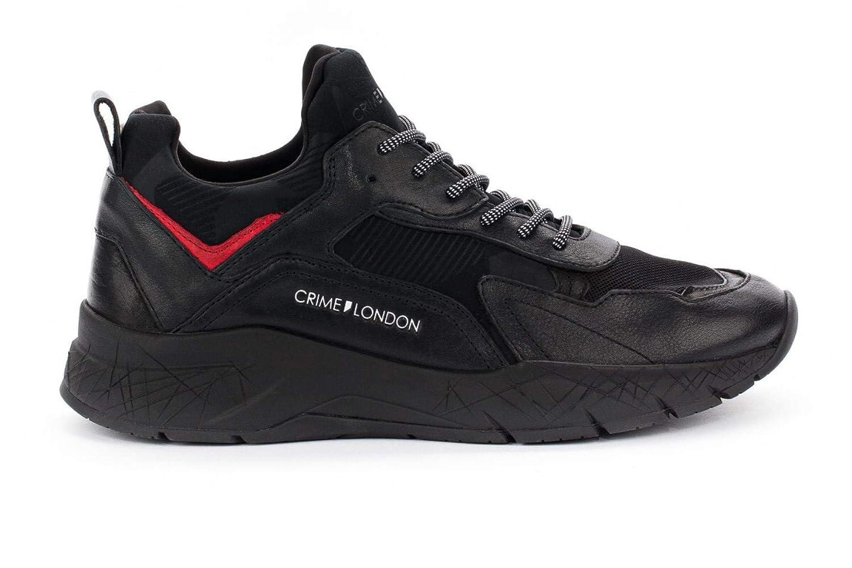 ... KOMRAD Black Running Tessuto Neoprene Pelle. Crime London Sneaker  KOMRAD Black Running Tessuto Neoprene Pelle €125.30. Pterosaur Unisex  Scarpe da Coppia ... 5ca28b78698