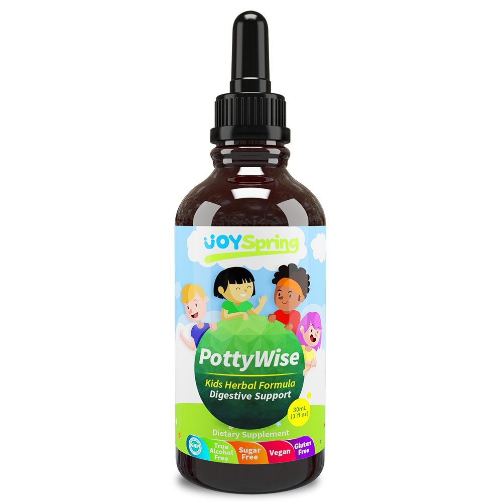 Liquid Stool Softener for Kids - Organic Stool Softener and Liquid Laxative for Kids - Gentle Constipation Relief for Kids, Fiber for Kids, Kids Stool Softener, 1 oz by JoySpring
