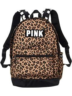 Victorias Secret Pink Campus Backpack Leopard Print