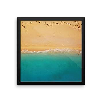 Amazon.com: Beach Framed Art | Zen Wall Print, Zen Wall Art Decor ...