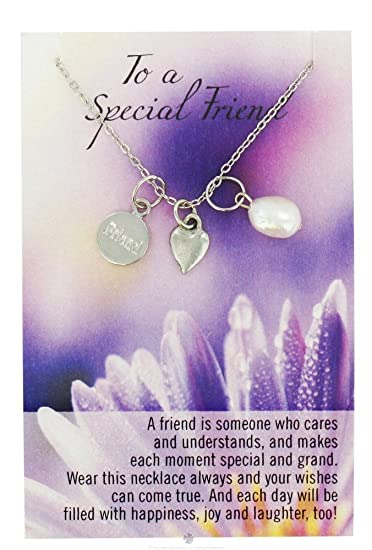 Amazoncom You Are A Special Friend I Love You Necklace 1 Pc