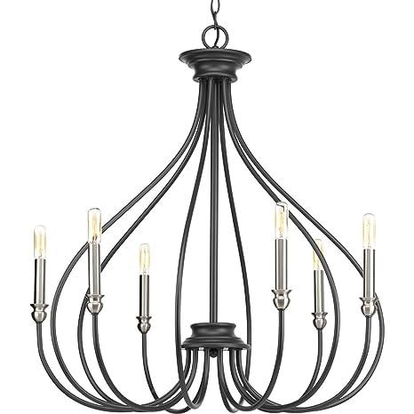 Amazon.com: Progress iluminación p400030 – 143 Whisp six ...