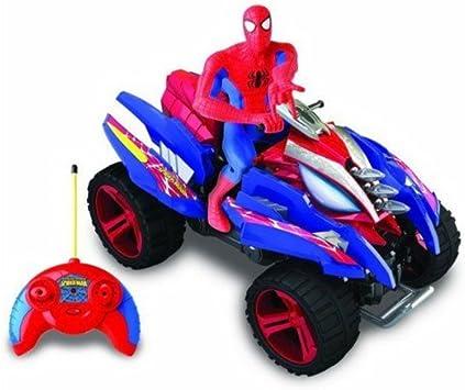 Rocco Giocattoli 20731326 Spiderman Sense Quad Lancia Missili RC