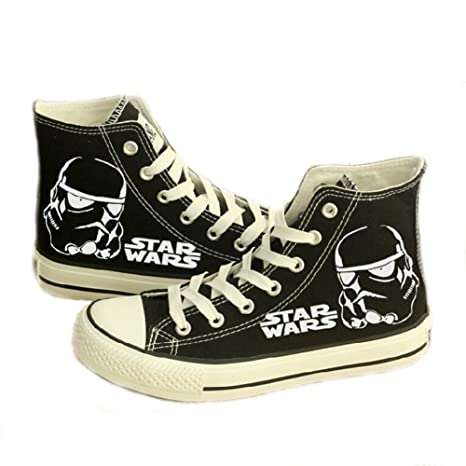 f300945637 Star Wars Shoes Darth Vader Anakin Skywalker Canvas Shoes Cosplay Shoes  Sneakers