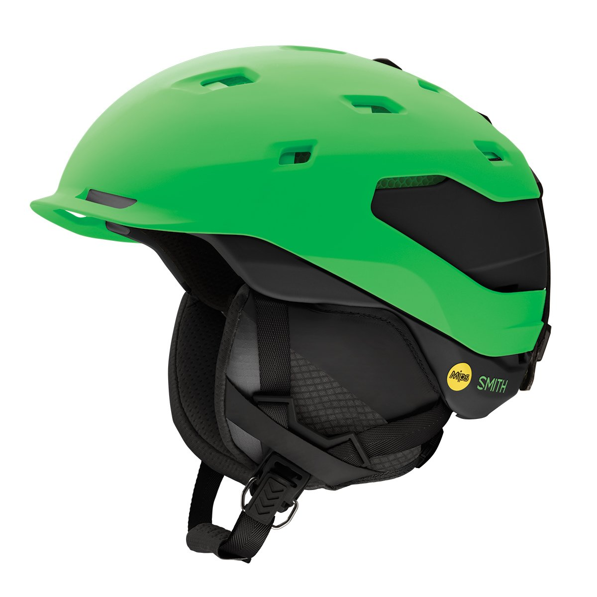 Smith Quantum Mips Snow Helmet - Matte Reactor Black (Medium) by Smith Optics