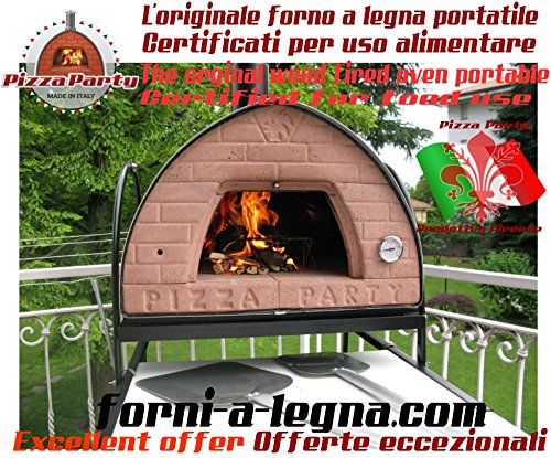 "Wood Fired Oven Pizza Party 70x70 ""Bronze"" save 500$"